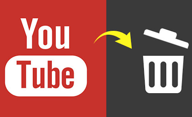youtube video silme